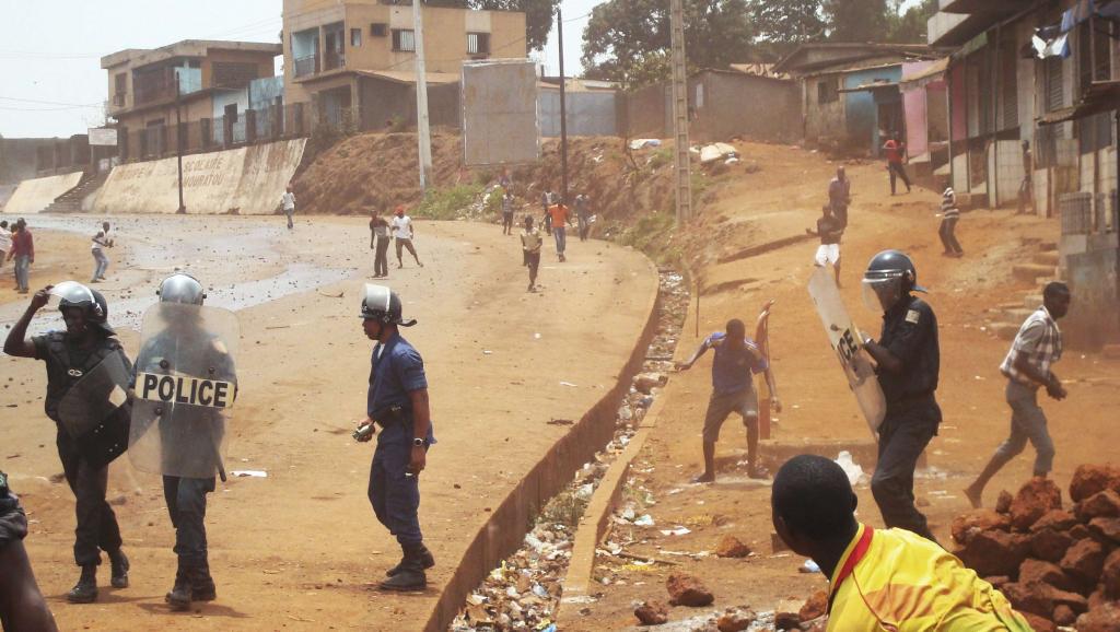 Guinée: Manifestations à Conakry, plusieurs personnes arrêtées