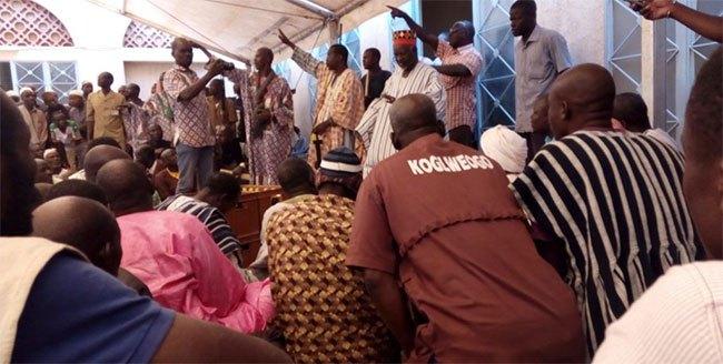 Affaire Kogleweogo à Karangasso Vigué: les kogleogo font de la résistance chez le Mogho Naba