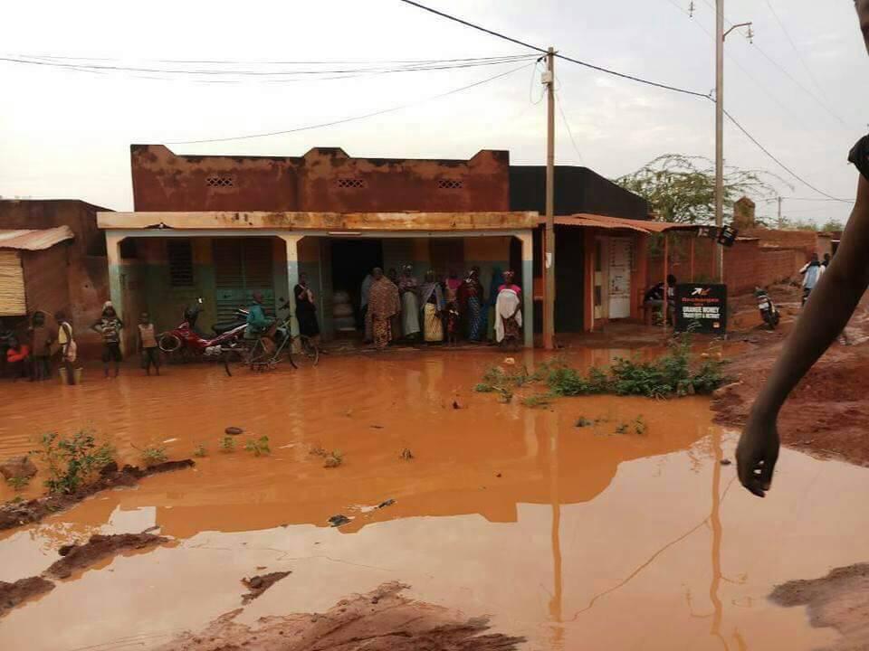 Kongoussi: une centaine de sinistrés après la pluie du 23 au 24 Février