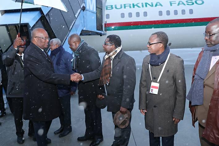 54ème Conférence sur la sécurité : Le Président du Faso est arrivé à Munich