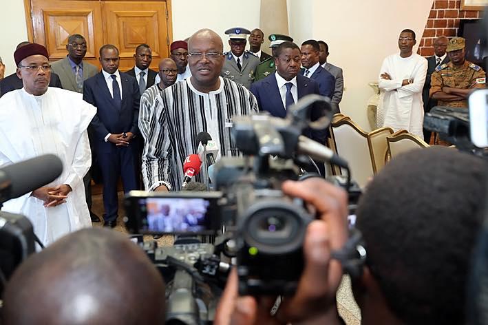 Attaques terroristes du 2 mars 2018: La CEDEAO et le G5 Sahel solidaires du peuple burkinabè