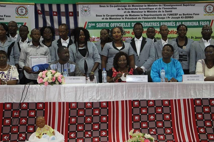 Burkina : 29 nouveaux pédiatres aptes à servir