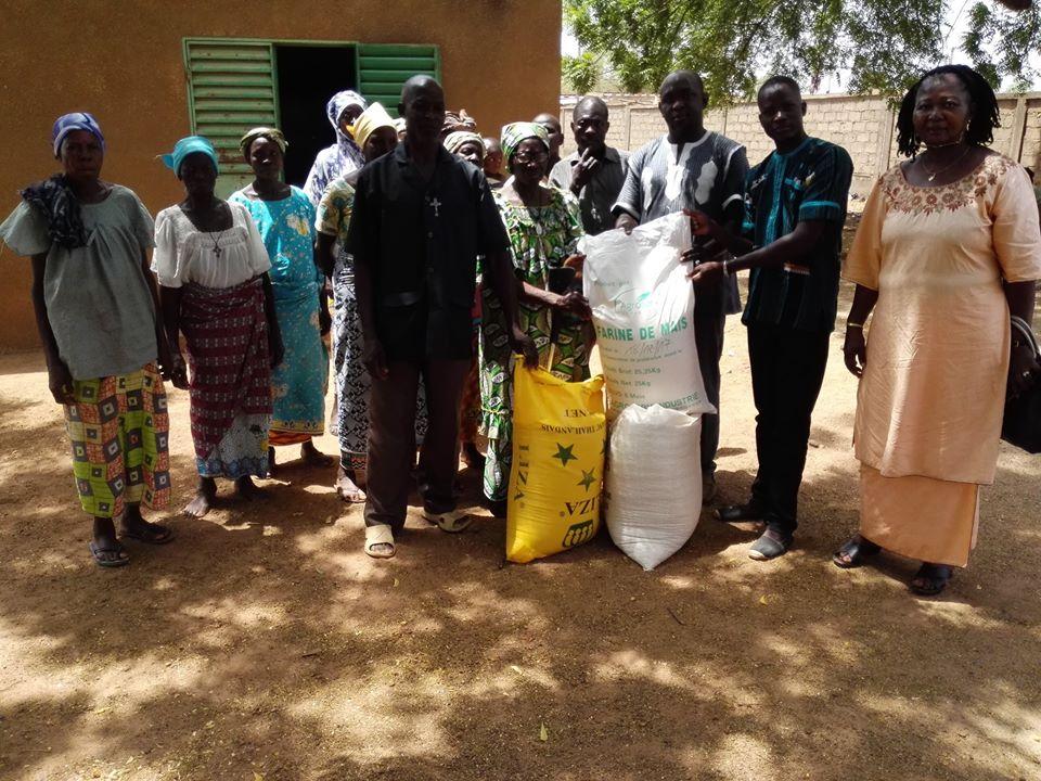 Koubri et Pabré: Des vivres pour les personnes vulnérables