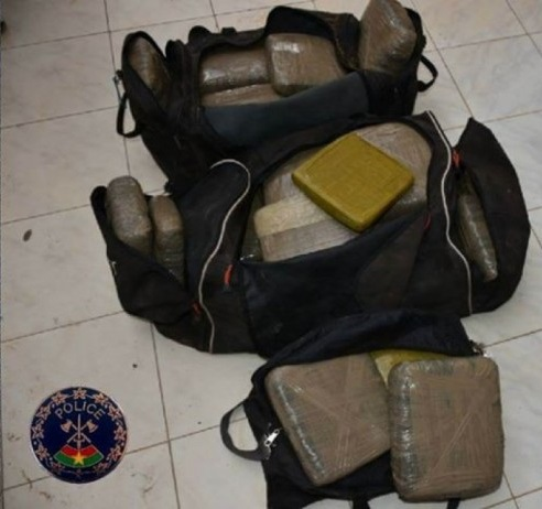 Burkina Faso: Plus de 50 kg de drogue saisie par la police