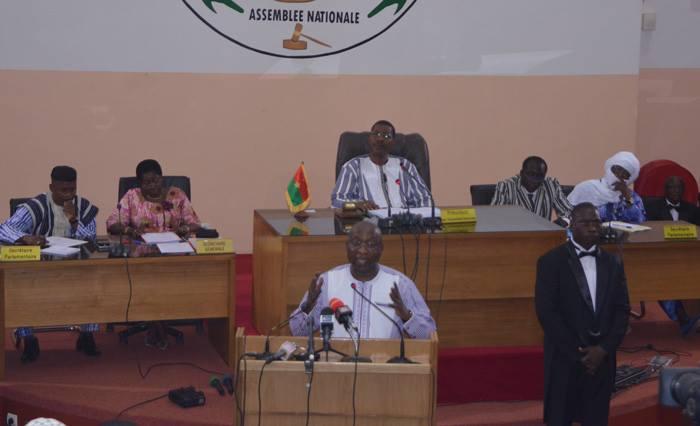 Discours sur la situation de la Nation du premier ministre Paul Kaba Thieba