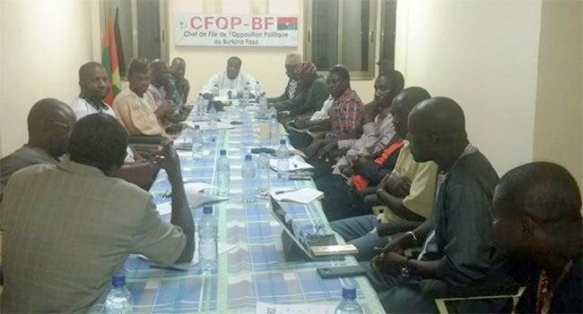 Politique: L'Opposition politique s'inquiète de la tournure que prend la crise au MINEFID