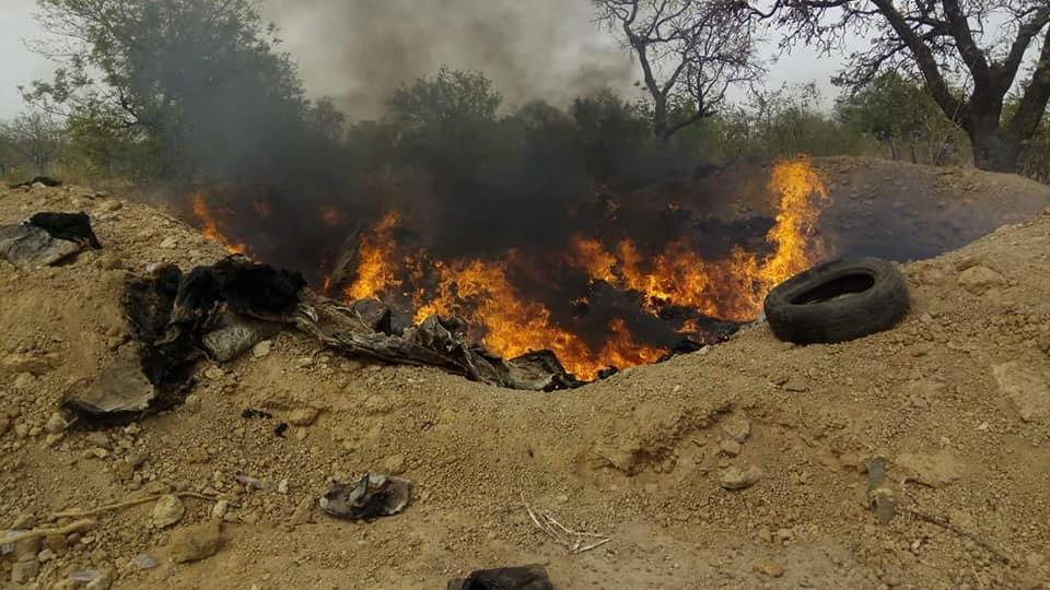 Pô: plus de 1800 peaux d'ânes incinérées