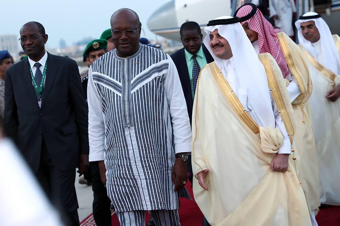 Le Président du Faso veut renforcer la coopération militaire avec l'Arabie Saoudite