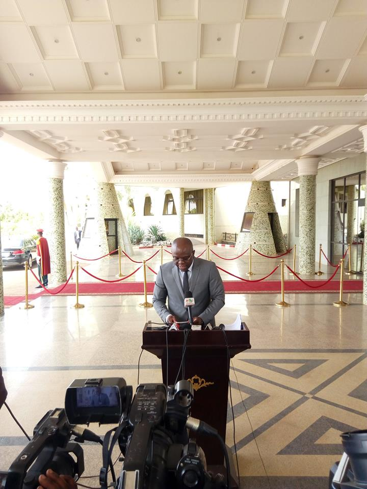 Burkina: Le sit-in n'est pas légal au Burkina Faso( Conseil des Ministres)