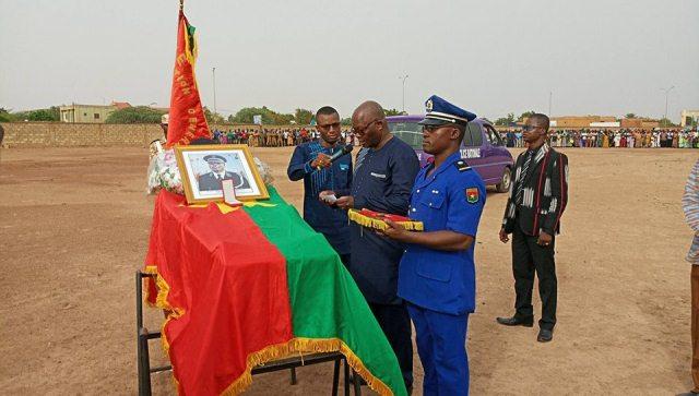 Le préfet de Oursi, Patrice Kaboré, Inhumé au cimetière de Gounghin