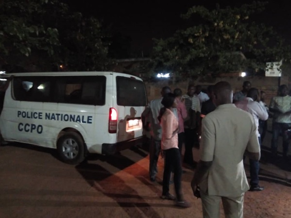 Ouagadougou: La police nationale réprime des fumeurs dans des lieux publics