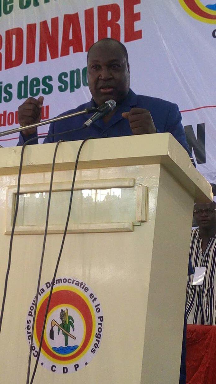 Discours du chef de file de l'Opposition politique Zéphirin Diabré à l'occasion du 7ème Congrès ordinaire du CDP