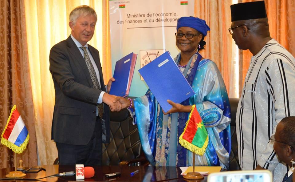 Economie: Le Royaume des Pays-Bas accorde un financement sous forme de don de plus de 4, 160 milliards de francs CFA