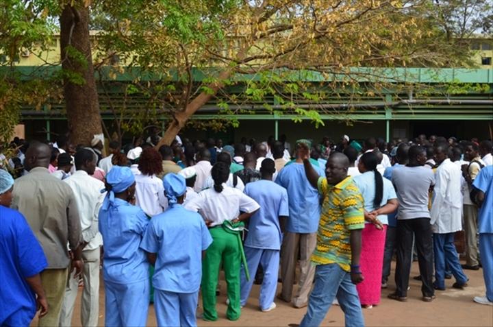 Santé: Le syndicat des travailleurs de la santé( SYNTSHA) annonce » une opération caisses vides » du 11 au 18 juin.