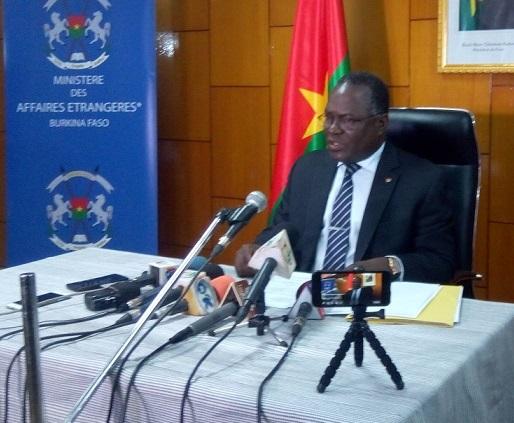 Rupture diplomatique Burkina/ Taiwan: la solution du Ministère des affaires étrangères.