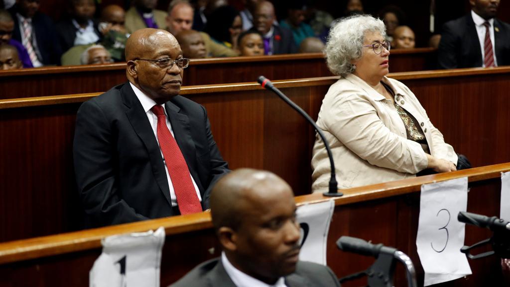 Afrique du Sud : le procès de l'ancien président Jacob Zuma ajourné