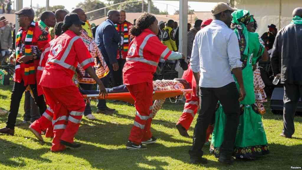 Zimbabwe :Un mort après l'attentat samedi