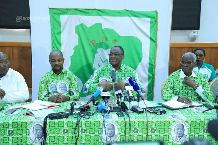 Côte d'Ivoire : plusieurs cadres du PDCI- RDA exclu du parti