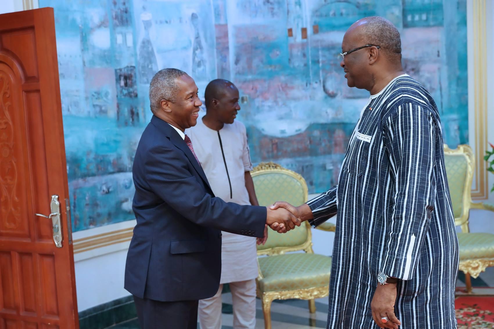 La SFI annonce au Président du Faso l'exécution à 60 % du montant annoncé dans le cadre du PNDES