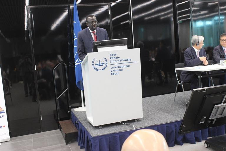 20è anniversaire du Statut de Rome  : Me Sankara plaide pour que la CPI connaisse des cas de corruption