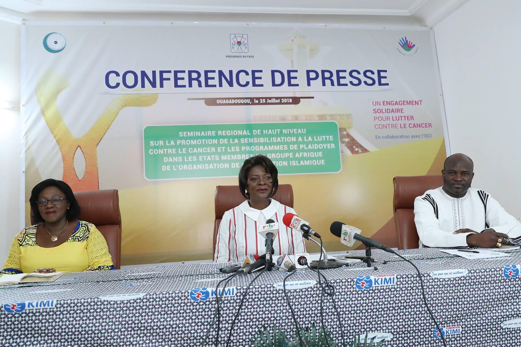 Lutte contre le cancer en Afrique : un séminaire des premières dames en août prochain à Ouagadougou