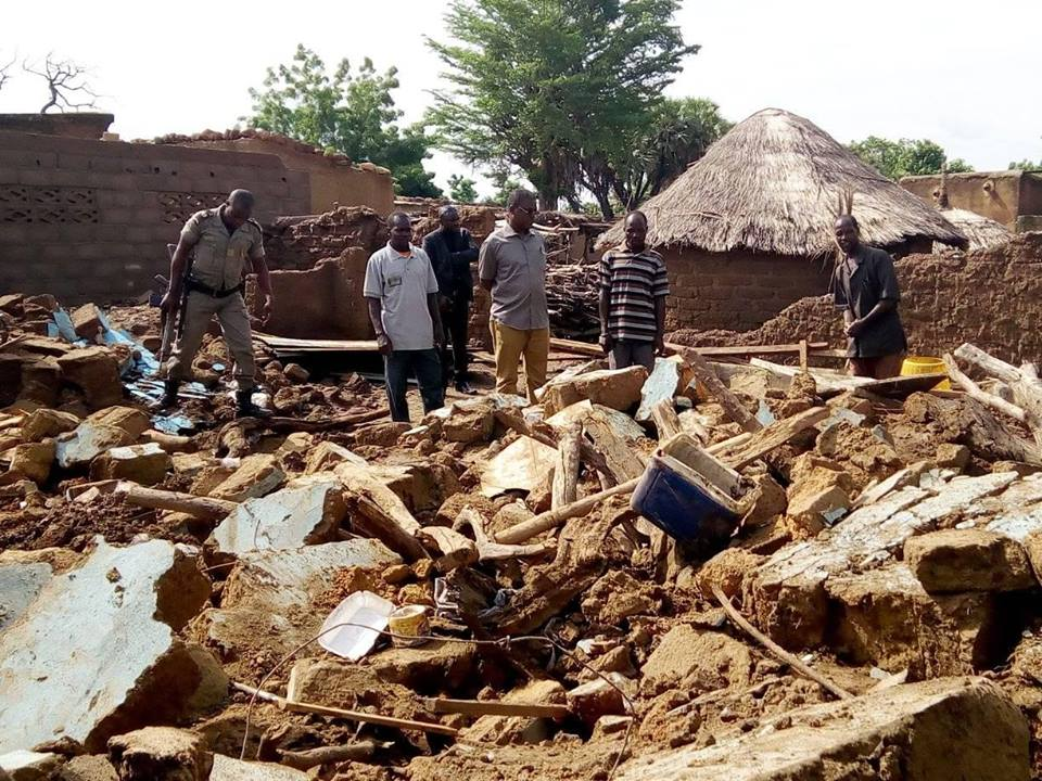 Fada N'Gourma: Inondation dans le village de Namoungou