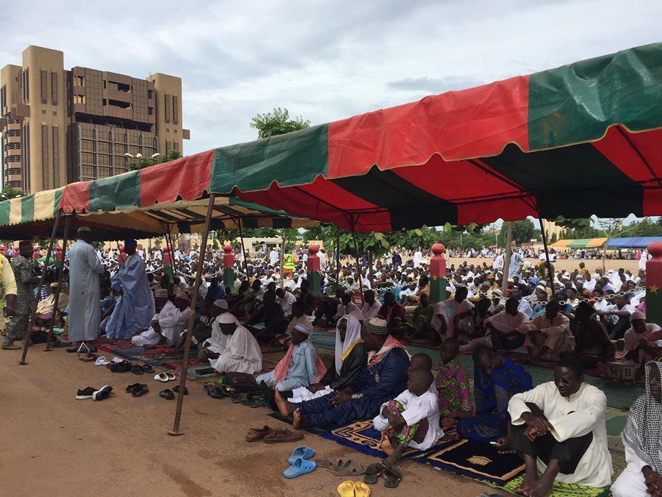 Aïd El Kebir: les musulmans du Burkina ont priés pour la paix