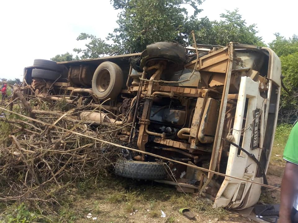 Bouroum-Bouroum: Un mort et 22 blessés dans un accident de la route
