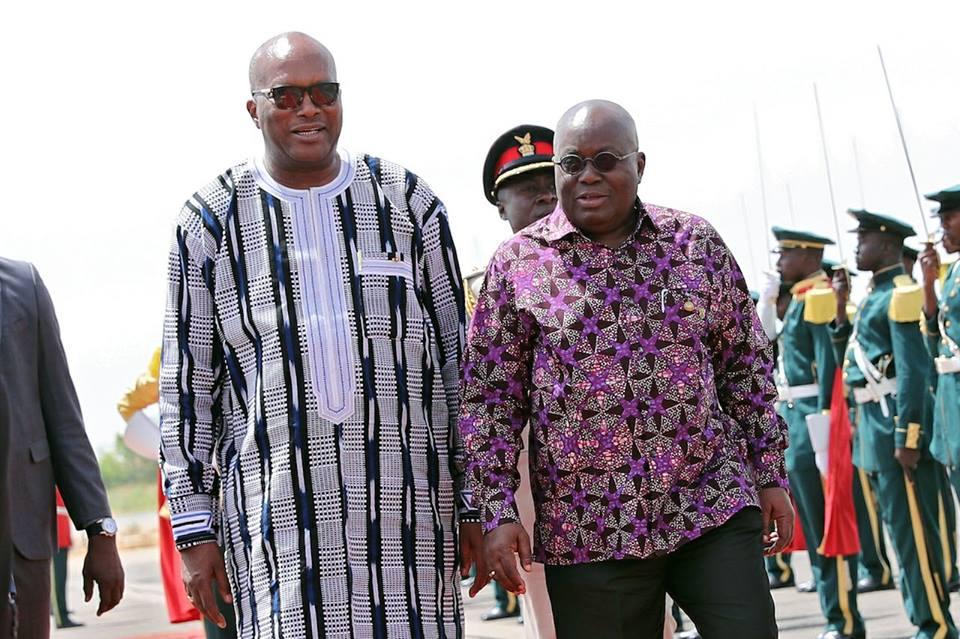 Le Président du Faso à Accra