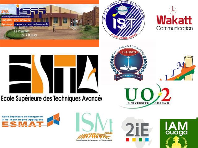 Enseignement supérieur privé : le classement des meilleures écoles au Burkina