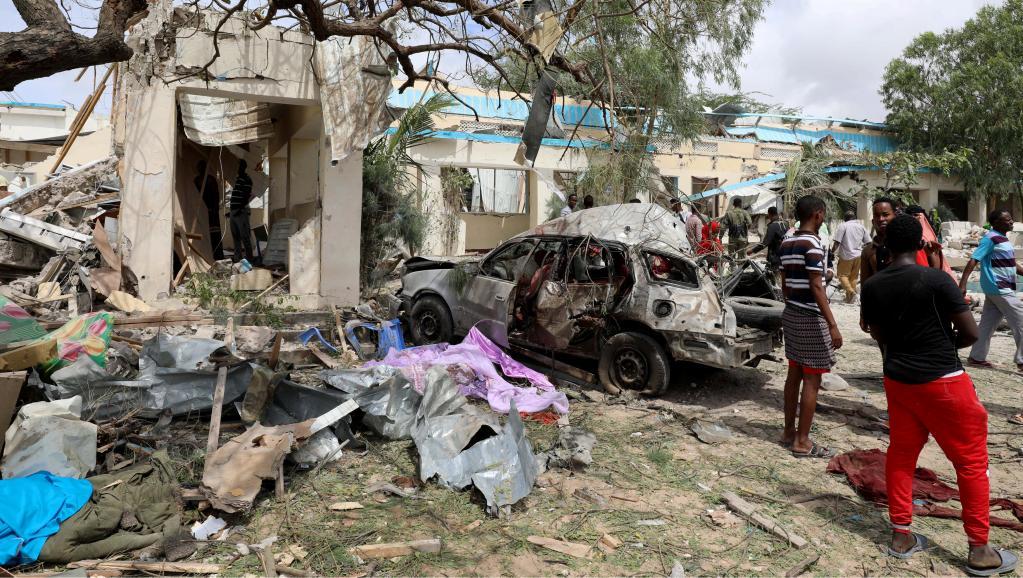 Somalie: Six morts dans un attentat à la voiture piégée à Mogadiscio