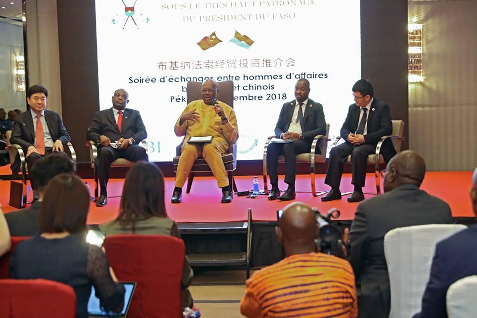 Coopération sino-burkinabè : les potentialités du Burkina Faso présentées aux hommes d'affaires chinois.