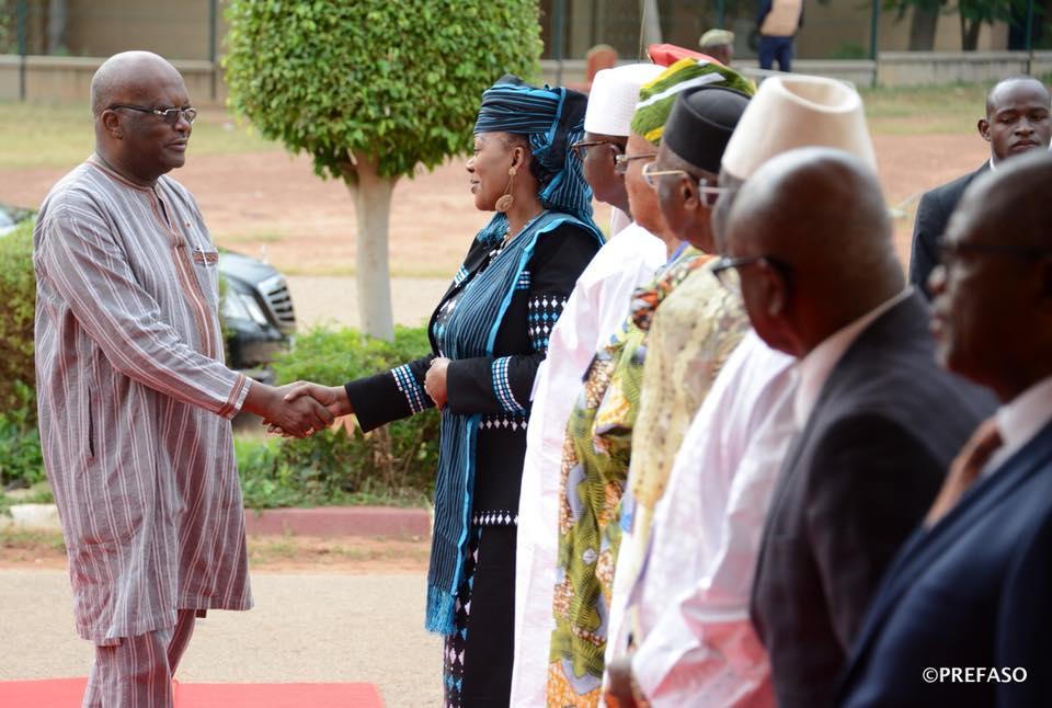 Médiateurs de l'espace UEMOA: L'engagement du président du Faso salué.