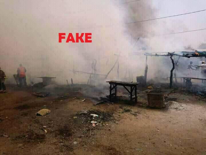 Intox: il n'y a pas eu de destruction de marché de dolo à Pouytenga