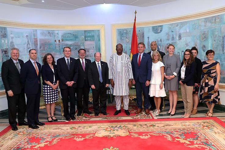 Burkina Faso-Etats-Unis : Des Sénateurs américains apprécient les efforts du peuple burkinabè