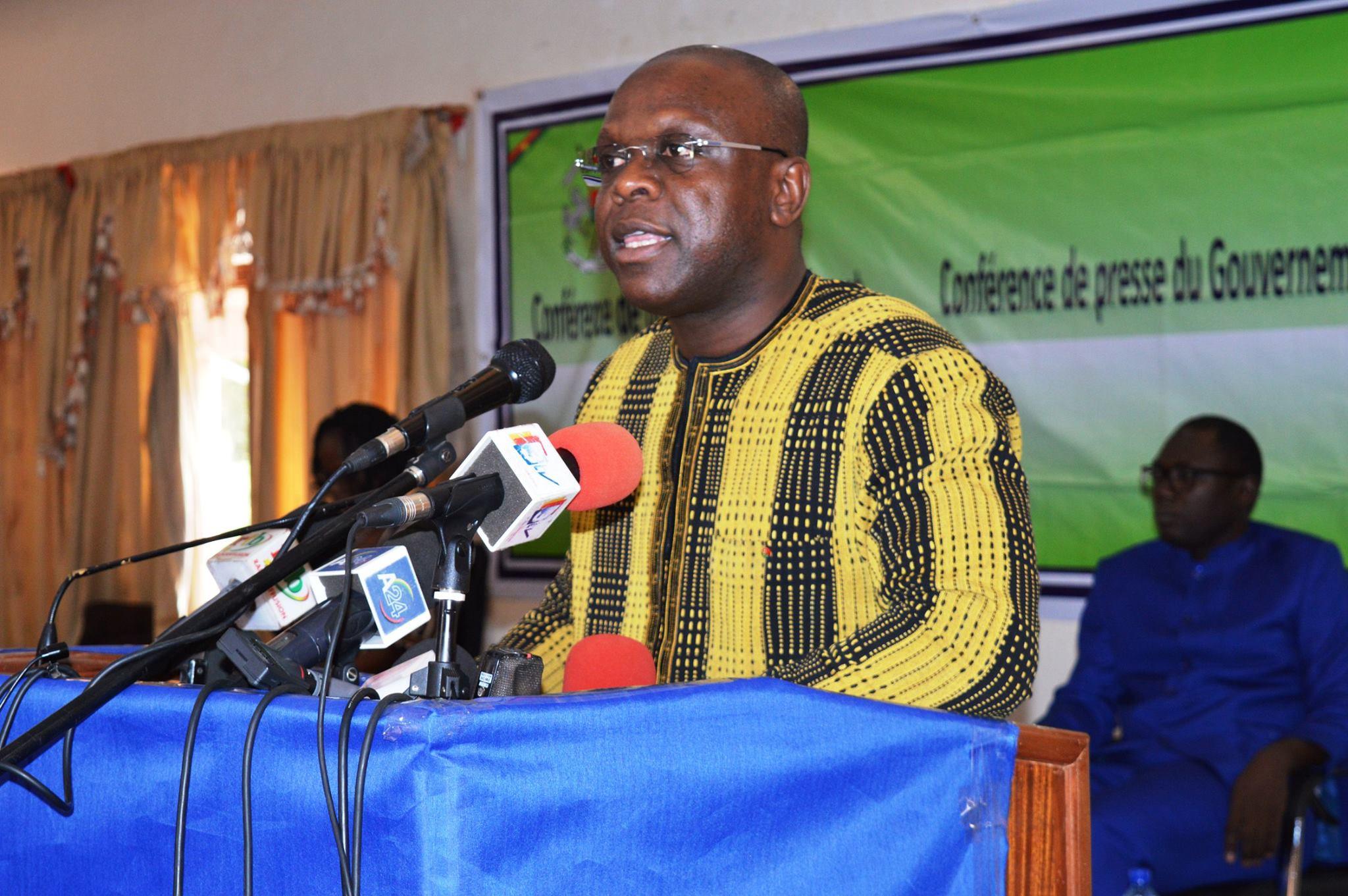 Recrudescence des mouvements de grèves et des sit-in : «Des discussions sont en cours en vue de trouver des solutions», selon le porte-parole du gouvernement, Rémi Fulgance DANDJINOU