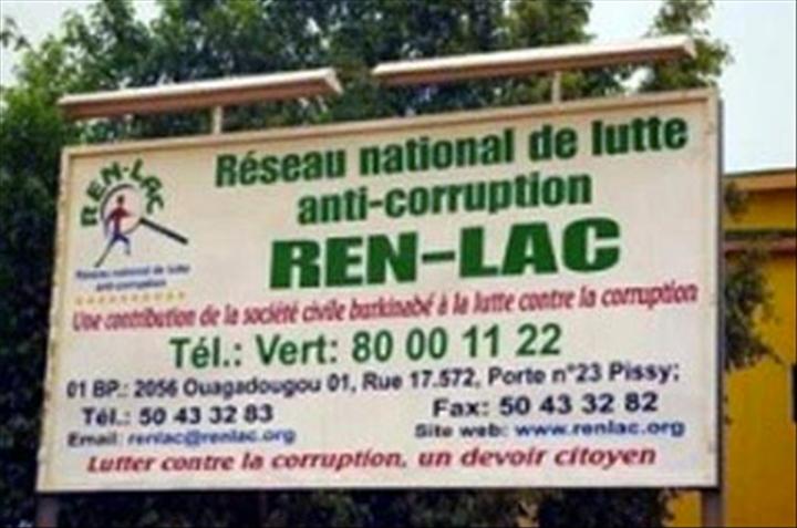 Corruption au Burkina: 2 nouvelles structures font leurs entrées dans le classement