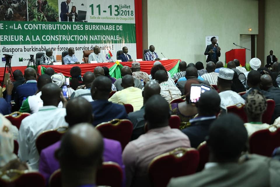 Forum national de la diaspora : le Président du Faso réaffirme l'opérationnalisation du vote des Burkinabè à l'étranger.