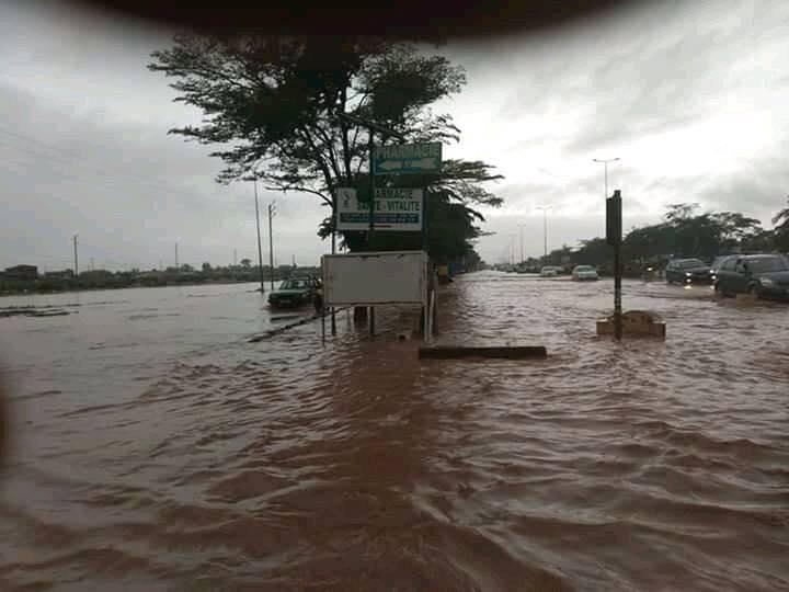 Forte pluie à Ouagadougou, voici les quartiers inondés