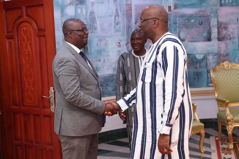 Représentation de la FAO au Burkina : Aristide Ongoné Obamé fait ses adieux au président du Faso