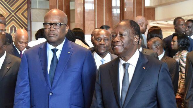 Burkina-Côte d'Ivoire: Le sommet du TAC ouvert à Yamoussoukro