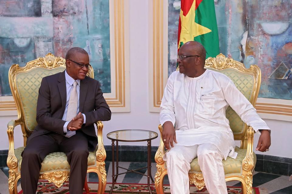 G5 Sahel : Le Secrétaire permanent rend compte de ses activités au Président du Faso.