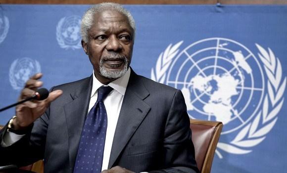 Décès de Koffi Anan: la réaction du DR Ablassé Ouedraogo
