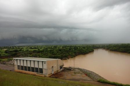 SONABEL: ouverture des vannes du barrage hydroélectrique de Bagré ce 27 août