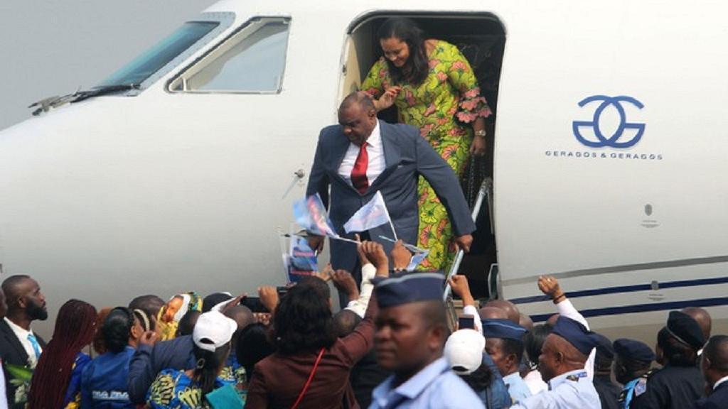 RDC: Jean-Pierre Bemba est arrivé