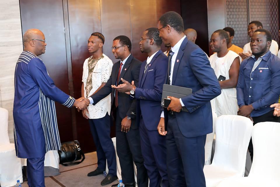 Le président du Faso aux burkinabè vivant en Chine : « travaillez à être les des acteurs clés de cette nouvelle coopération »