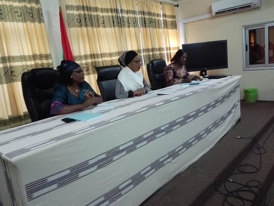 Coordinations de femmes : La ministre Laurence Ilboudo/ Marchal échange avec les représentantes