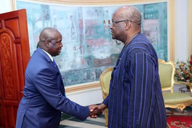 Conseil supérieur de la Communication : le nouveau président sollicite le soutien du président du Faso