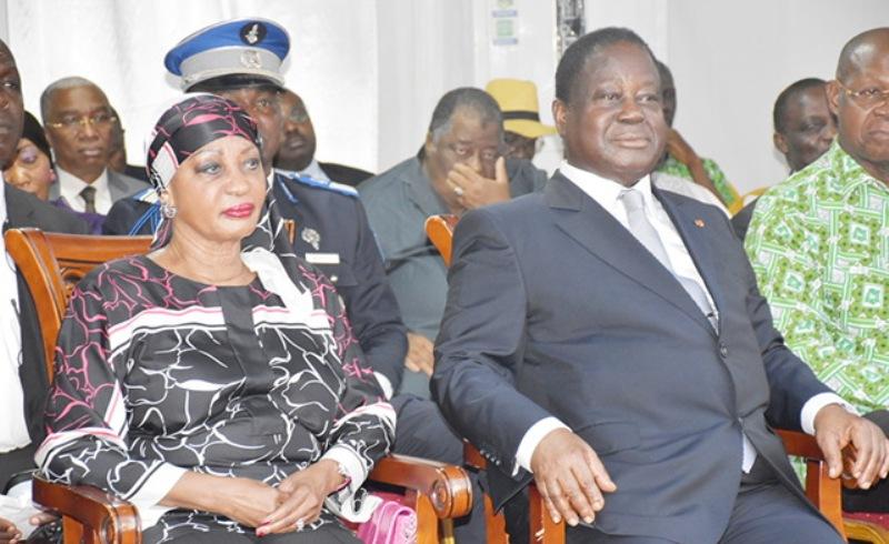 Côte d'Ivoire :la présidence coupe les vivres à Bédié et son épouse?