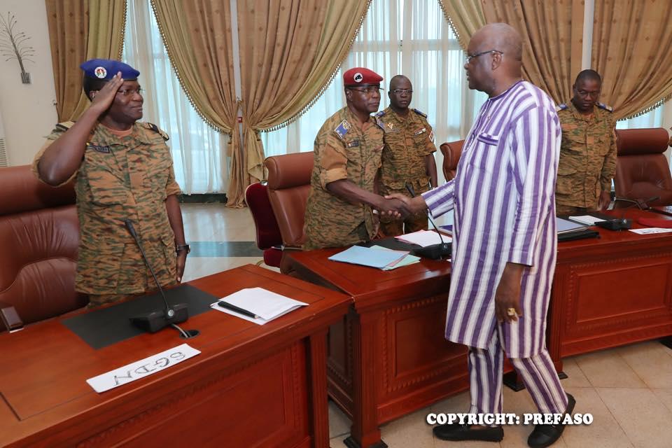 Sécurité : Les membres du Conseil supérieur de la défense nationale font le point
